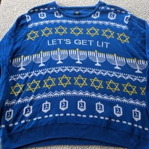Men's ugly holiday sweater